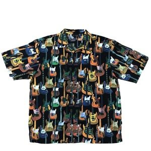 Fender by DaVinci Button-up Shirt Short Sleeve